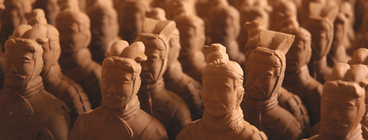 terra cotta warriors sculptures and replicas on sale